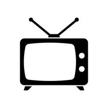 Television Icon Vector Design Template