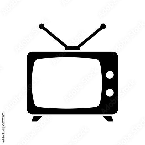 television icon vector design template Fototapet