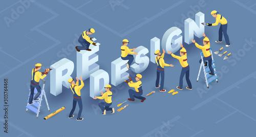 Fototapeta Redesign services