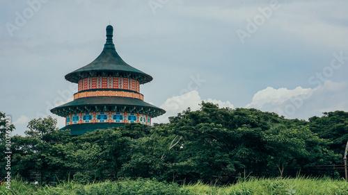 Fototapeta pagoda the asian temple