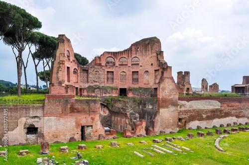 Fotografia, Obraz Stadium of Domitian ruins in Rome, Italy