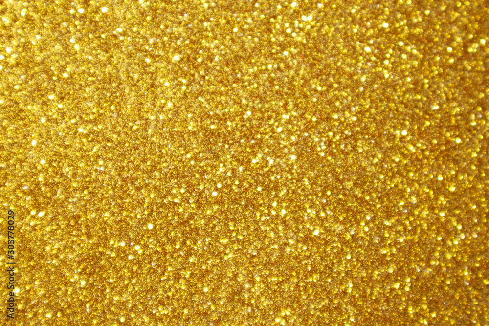 Fototapeta Abstract gold glitter sparkle bokeh light background