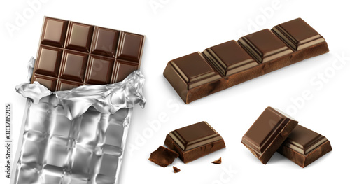 Valokuvatapetti Chocolat vectoriel 1