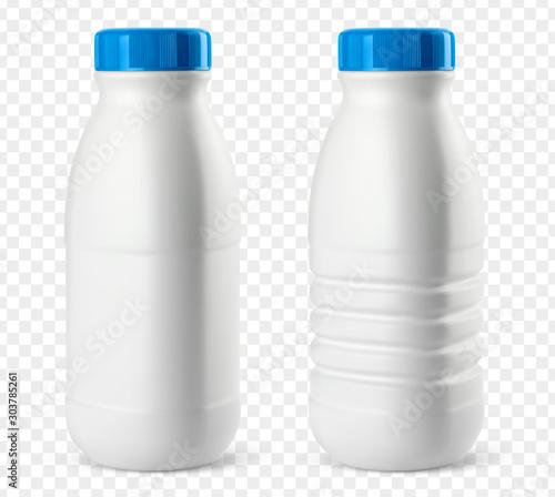 Foto Bouteilles de lait vectorielles 3
