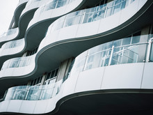Architecture Detail Modern Bui...