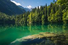 Spring Landscape At Lake Fusin...