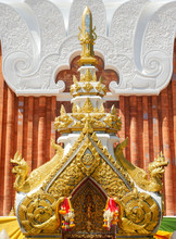 Wat Phra That Phanom Is A Sacred Temple And Place Of Worship Of Thailand