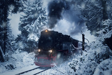 Historical Steam Locomotive St...