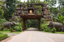 Wat Phu Tok In Thailand, Province Bueng Kan.