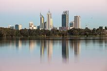 Perth Across Lake Monger