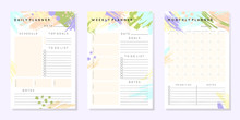 Vector Planner Templates With ...