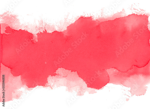 Obraz Abstract watercolor texture background. Hand painted illustration. - fototapety do salonu