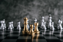Gold And Silver Chess On Chess...