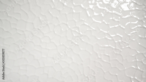 White structure porcelain background
