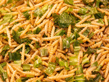 Fried Insects, Bugs Fried On S...