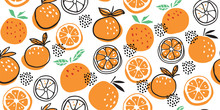 Stylish Citrus Oranges Fruits ...