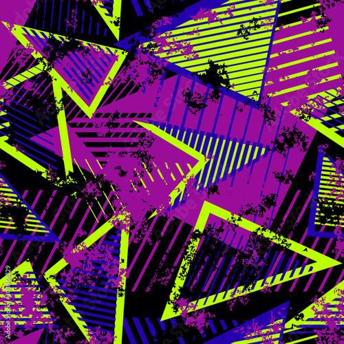 Tapety Futurystyczne  wektor-streszczenie-bezszwowe-wzor-geometryczny-nowoczesna-tekstura-grunge-sztuki-miejskiej
