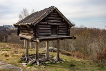 The Funny Small Hut Or Storeho...