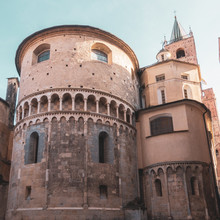 Towers Of Albenga, Italy