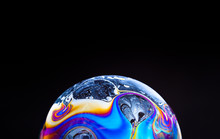 Close Up Of A Colorful Soap Bu...
