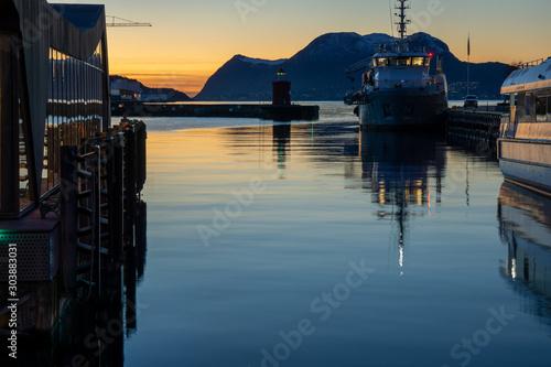 Fotografía  Norwegen im November Alesund