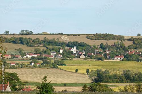 Village dans l'Allier en Auvergne
