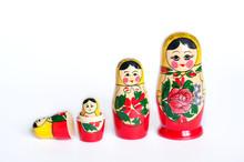 Doll Set Matryoshka Of 4 Piece...