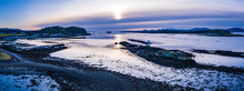 Aerial Panorama Of Loch Linnhe...
