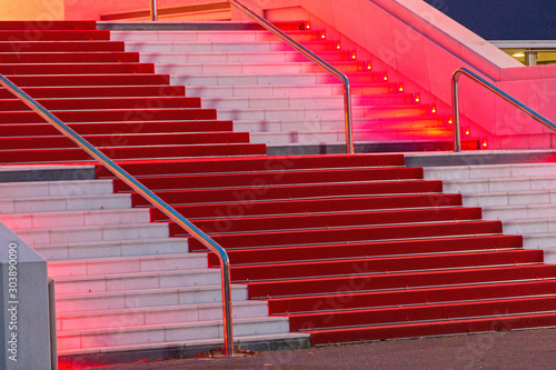 Photo Red Carpet Stairway