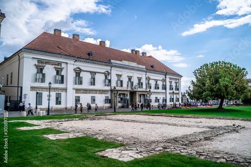 Obraz na płótnie Sándor Palace, Budapest. President's seat