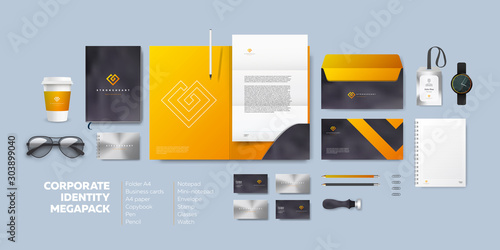 Fotografía  Corporate branding identity design