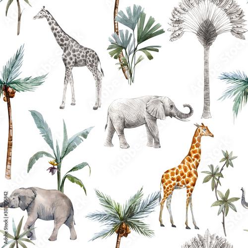 akwarela-bezszwowe-wzory-z-safari