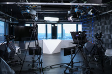 Modern Video Recording Studio ...