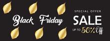 Black Friday Sale Modern Design Fashion Banner Vector Template