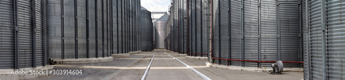 Obraz Granary specially equipped place for long-term storage of grain - fototapety do salonu