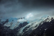 Berge Gipfel in Neuseeland mit Fernsicht