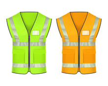 Safety Vest With Reflective St...