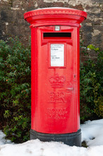 A Traditional Red British Post...