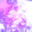 Leinwandbild Motiv Acrylic colors in water. Print. Abstract white smoke isolated on purple background.