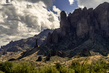 Superstision Mountain Landscap...