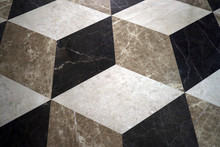 Natural Marble Stone Floor Wit...