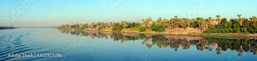 Nile River Bank Panorama Fototapeta