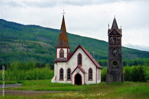 Church in the Canadian Mountains