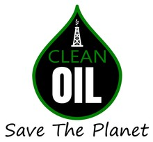 Oil Clean Up Save The Planet Design