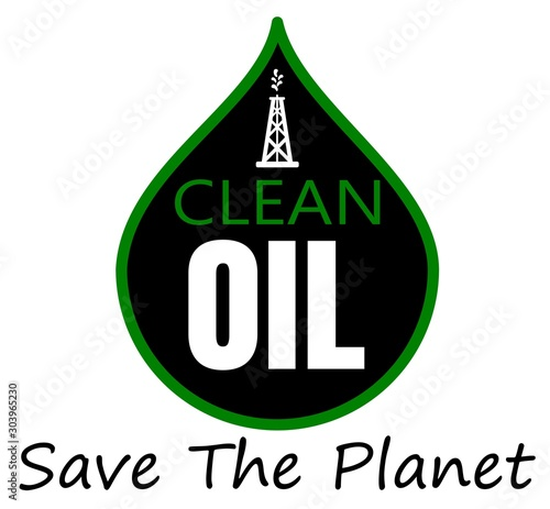 oil clean up save the planet design #303965230