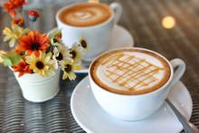 Hot Caramel Macchiato Coffee D...