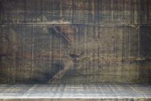 Dark Wooden Grunge Texture Background
