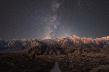 The Road To Alabama Hills