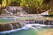 Kuangsi Waterfall in Luang Prabang, Laos