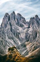 Minimalistic Mountains Landsca...